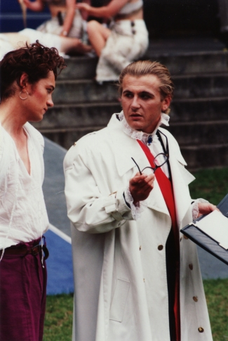 Ben Weston & Graeme Austin in The Two Gentlemen of Verona, 1993