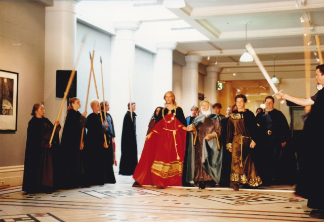 King John media launch at the Wellington Town Hall, January 1997